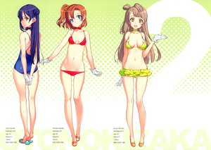 Rating: Questionable Score: 137 Tags: 3girls bikini kousaka_honoka love_live!_school_idol_project minami_kotori navel oyari_ashito scan sonoda_umi swimsuit User: Wiresetc