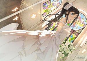 Rating: Safe Score: 126 Tags: dress hentai_ouji_to_warawanai_neko kantoku scan tagme_(character) wedding_attire User: BattlequeenYume