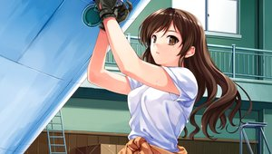 Rating: Safe Score: 149 Tags: abhar brown_eyes brown_hair deep_blue_sky_&_pure_white_wings game_cg gloves long_hair misaki_kurehito nakano_hinata User: opai
