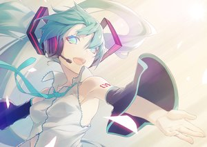Rating: Safe Score: 96 Tags: hatsune_miku nilitsu vocaloid User: FormX