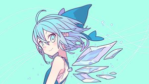 Rating: Safe Score: 77 Tags: cirno fairy morino_hon touhou vector wings User: RyuZU