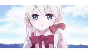 Rating: Safe Score: 41 Tags: blue_eyes bow chris4708 crying hatsune_miku loli original ponytail vocaloid white_hair User: MissBMoon