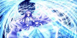 Rating: Safe Score: 94 Tags: original purple_eyes purple_hair ribbons ulquiorra0 wings User: Zolxys
