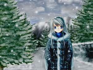 Rating: Safe Score: 21 Tags: clannad sakagami_tomoyo snow winter User: Oyashiro-sama