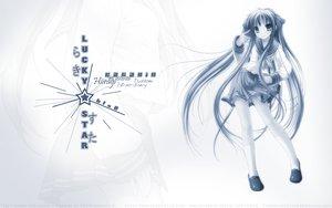 Rating: Safe Score: 21 Tags: hiiragi_kagami lucky_star namamo_nanase User: Oyashiro-sama