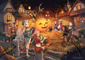 Rating: Safe Score: 39 Tags: animal animal_ears bat black_hair blonde_hair braids building cape dress elbow_gloves gloves gray_hair group halloween hat long_hair pink_hair ponytail pumpkin red:_pride_of_eden sumomo_kaze tagme_(character) tail tree twintails waifu2x witch_hat User: BattlequeenYume