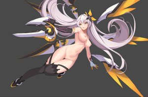Rating: Explicit Score: 162 Tags: breasts dress elbow_gloves gloves gray honkai_impact jeongjae_(jj) kiana_kaslana long_hair mechagirl navel nipples nude pussy thighhighs uncensored weapon white_hair wings yellow_eyes User: BattlequeenYume