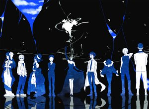 Rating: Safe Score: 53 Tags: brezhnev_simon celty_sturluson dress durarara!! glasses hat heiwajima_shizuo kida_masaomi kishitani_shinra long_hair orihara_izaya polychromatic ryuugamine_mikado short_hair sonohara_anri yagiri_namie User: Tensa