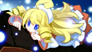Rating: Safe Score: 25 Tags: blonde_hair blue_eyes chou_chou chou_chou_natural game_cg jpeg_artifacts mugen_souls User: vertical09