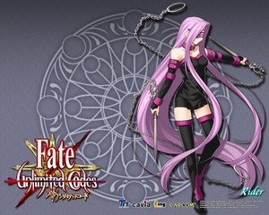 Rating: Safe Score: 47 Tags: fate/stay_night fate/unlimited_codes long_hair rider weapon User: Derly6792