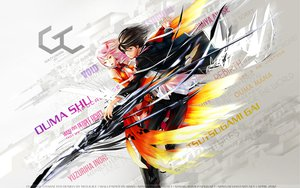 Rating: Safe Score: 89 Tags: guilty_crown ouma_shu redjuice weapon white yuzuriha_inori User: ssagwp