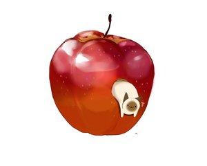 Rating: Safe Score: 17 Tags: animal apple cat chai_(artist) food fruit nobody original signed white User: otaku_emmy