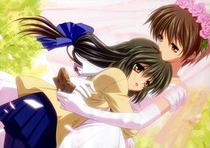 Rating: Questionable Score: 28 Tags: clannad ibuki_fuuko ibuki_kouko jpeg_artifacts User: mikucchi