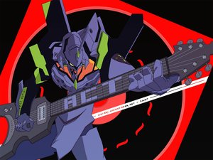 Rating: Safe Score: 11 Tags: eva-01 guitar instrument mecha neon_genesis_evangelion vector User: RyuZU