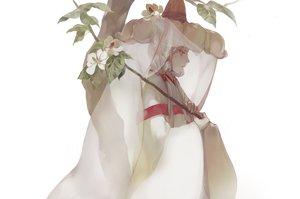 Rating: Safe Score: 38 Tags: flowers hat noir_(ibaraki) original red_eyes tree white white_hair User: FormX