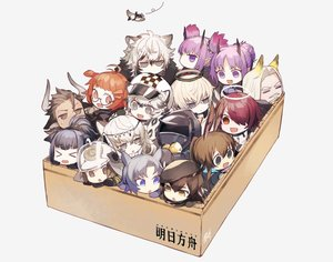 Rating: Safe Score: 70 Tags: amiya_(arknights) angel animal animal_ears arknights beagle_(azur_lane) bird blue_eyes blue_hair brown_hair bunny_ears bunnygirl catgirl chibi cliffheart_(arknights) doctor_(arknights) executor_(arknights) exusiai_(arknights) fang fang_(arknights) glasses gloves gray_eyes gray_hair group hat hellagur_(arknights) hibiscus_(arknights) horns jessica_(arknights) lava_(arknights) long_hair matterhorn_(arknights) nitaka_(fujikichi) orange_eyes orange_hair plume_(arknights) pointed_ears ponytail pramanix_(arknights) purple_eyes purple_hair red_eyes red_hair shaw_(arknights) short_hair silverash_(arknights) tail tenzin_(arknights) third-party_edit twintails white User: Nepcoheart