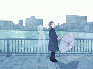 Rating: Safe Score: 31 Tags: 456 brown_hair building city hoodie male original polychromatic rain scarf short_hair umbrella water User: otaku_emmy