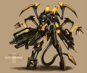 Rating: Safe Score: 223 Tags: gia gun mecha original tail weapon User: mrdkreka