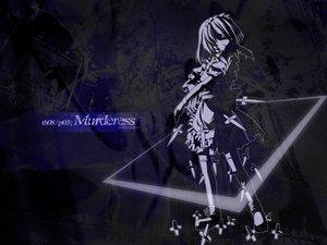Rating: Safe Score: 16 Tags: blue izayoi_sakuya knife logo maid silhouette thighhighs touhou weapon User: Oyashiro-sama