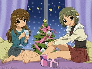 Rating: Safe Score: 30 Tags: akiranyo christmas dejiko di_gi_charat_winter_garden puchiko tagme User: 秀悟
