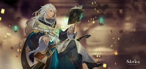 Rating: Safe Score: 6 Tags: all_male book boots charle_(sdorica) logo long_hair mage magic male orange_eyes sdorica_-sunset- tagme_(artist) white_hair User: otaku_emmy
