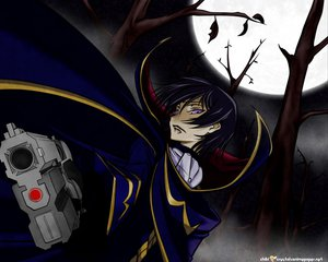 Rating: Safe Score: 3 Tags: code_geass gun lelouch_lamperouge moon weapon User: Oyashiro-sama