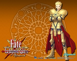 Rating: Safe Score: 21 Tags: armor fate_(series) fate/stay_night fate/unlimited_codes gilgamesh User: Derly6792