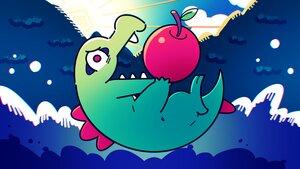 Rating: Safe Score: 10 Tags: apple close clouds food fruit higa-tsubasa nobody pokemon polychromatic sky totodile User: otaku_emmy