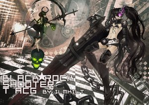 Rating: Safe Score: 73 Tags: black_hair black_rock_shooter green_eyes insane_black_rock_shooter long_hair purple_eyes takanashi_yomi weapon User: HawthorneKitty
