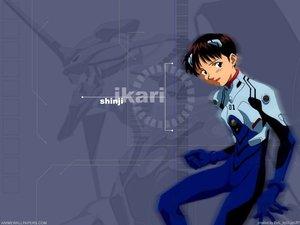 Rating: Safe Score: 3 Tags: bodysuit ikari_shinji neon_genesis_evangelion skintight User: Oyashiro-sama