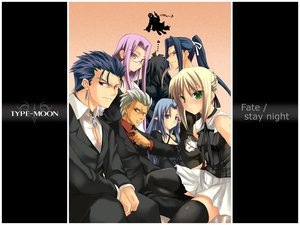 Rating: Safe Score: 13 Tags: archer assassin berserker caster fate/stay_night lancer rider saber User: Oyashiro-sama