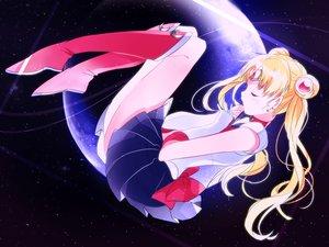Rating: Safe Score: 56 Tags: blonde_hair boots elbow_gloves gloves hukikojyakku long_hair planet sailor_moon skirt stars tsukino_usagi twintails User: FormX