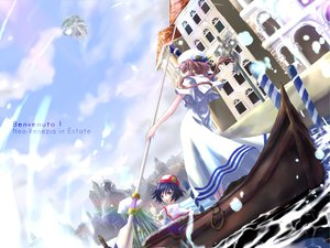 Rating: Safe Score: 12 Tags: aika_s_granzchesta alice_carroll aria boat mizunashi_akari User: HawthorneKitty