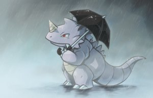 Rating: Safe Score: 22 Tags: pokemon rain rhydon thumpleweed umbrella water User: otaku_emmy