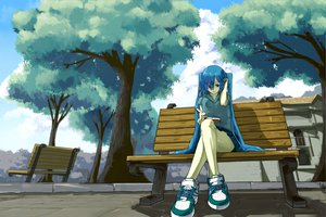 Rating: Safe Score: 89 Tags: hatsune_miku twintails vocaloid User: HawthorneKitty