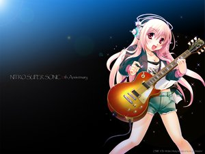 Rating: Safe Score: 88 Tags: guitar headphones instrument nitroplus pink_eyes pink_hair sonico super_sonico User: hadouken21