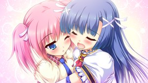 Rating: Safe Score: 38 Tags: 2girls blue_eyes blue_hair blush colorful_cure etoiles game_cg hug long_hair moric pink_hair sakuramiya_aoi sakuranomiya_nonoka seifuku short_hair tears tie wink User: Maboroshi