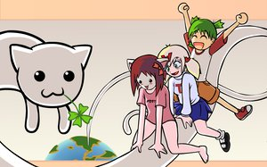 Rating: Safe Score: 27 Tags: 4chan animal cat koiwai_yotsuba longcat moot wt_snacks yotsubato! User: Oyashiro-sama