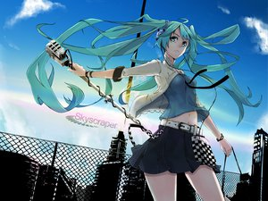 Rating: Safe Score: 77 Tags: hatsune_miku mirre twintails vocaloid User: HawthorneKitty