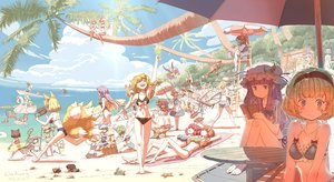 Rating: Safe Score: 98 Tags: alice_margatroid animal animal_ears apron ball barefoot beach bikini blindfold blonde_hair blue_eyes boat book bow braids breasts brown_hair bunny_ears bunnygirl camera catgirl chen cirno clouds crab dahuang daiyousei drink fairy fan fish flandre_scarlet food foxgirl fujiwara_no_mokou green_hair group hakurei_reimu hat headband hijiri_byakuren hinanawi_tenshi hong_meiling horns hoshiguma_yuugi houjuu_nue houraisan_kaguya ibuki_suika ice_cream imaizumi_kagerou inaba_tewi izayoi_sakuya kaenbyou_rin kaku_seiga kawashiro_nitori kirisame_marisa kisume kochiya_sanae komeiji_koishi komeiji_satori konpaku_youmu loli long_hair maid miyako_yoshika moriya_suwako multiple_tails murasa_minamitsu mystia_lorelei nagae_iku navel nazrin onozuka_komachi patchouli_knowledge pink_hair ponytail purple_eyes purple_hair red_eyes reisen_udongein_inaba reiuji_utsuho remilia_scarlet rumia saigyouji_yuyuko school_swimsuit sekibanki shameimaru_aya short_hair signed skirt sky sleeping sport sukuna_shinmyoumaru swim_ring swimsuit sword tail touhou tree twintails umbrella vampire volleyball wakasagihime weapon white_hair wings wink yakumo_ran yakumo_yukari User: RyuZU