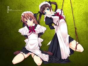 Rating: Questionable Score: 126 Tags: bondage f-ism maid murakami_suigun panties underwear User: rargy