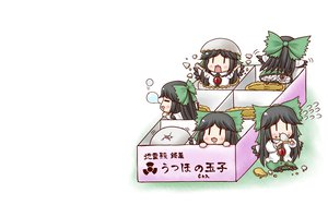 Rating: Safe Score: 22 Tags: aonagi_ibane chibi reiuji_utsuho touhou white User: SciFi