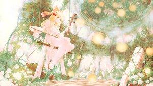 Rating: Safe Score: 26 Tags: blonde_hair dress flowers headband instrument long_hair orange_eyes polychromatic rose satsuki_rin seelehan touhou water User: BattlequeenYume