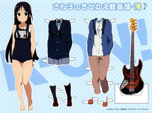 Rating: Questionable Score: 28 Tags: akiyama_mio guitar instrument k-on! scan swimsuit User: damnme