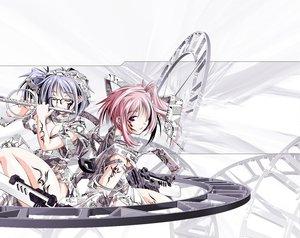 Rating: Safe Score: 21 Tags: flute glasses instrument metsuki_ganka paper pink_hair purple_hair tattoo vidal User: Oyashiro-sama
