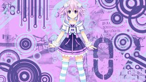 Rating: Safe Score: 110 Tags: hyperdimension_neptunia neptune purple_eyes purple_hair short_hair thighhighs User: Stealthbird97