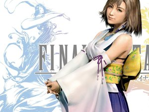 Rating: Safe Score: 18 Tags: blue_eyes brown_hair final_fantasy final_fantasy_x final_fantasy_x-2 green_eyes necklace realistic short_hair white yuna_(ffx) User: Umbra