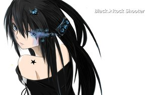 Rating: Safe Score: 178 Tags: black_hair black_rock_shooter blue_eyes close kuroi_mato surolen tattoo white User: HawthorneKitty