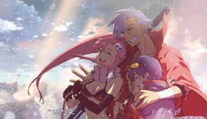 Rating: Safe Score: 109 Tags: kamina simon tengen_toppa_gurren_lagann yoko_littner User: haru3173