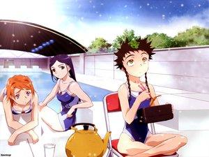 Rating: Safe Score: 6 Tags: animal frog kuga_natsuki mai-hime minagi_mikoto swimsuit tokiha_mai User: Oyashiro-sama